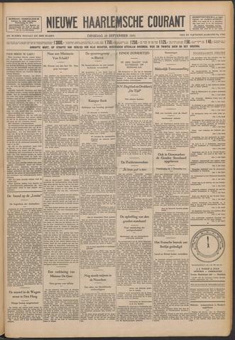 Nieuwe Haarlemsche Courant 1931-09-29