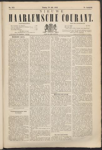 Nieuwe Haarlemsche Courant 1884-07-20