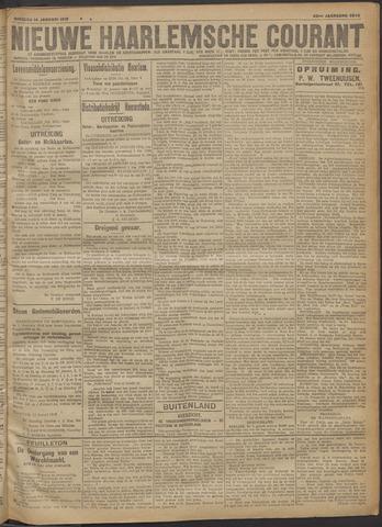 Nieuwe Haarlemsche Courant 1919-01-14