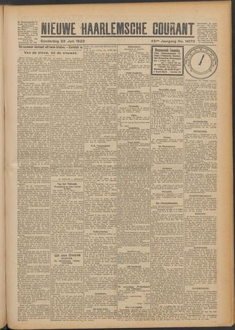 Nieuwe Haarlemsche Courant 1922-06-22