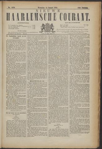 Nieuwe Haarlemsche Courant 1891-01-14