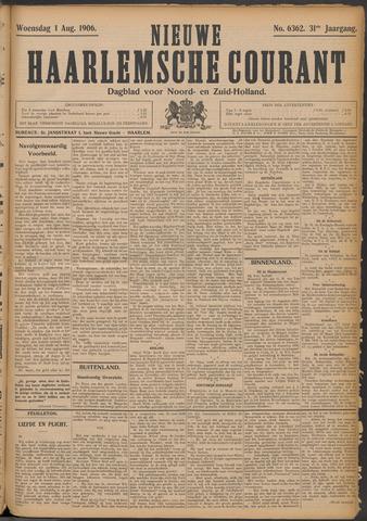 Nieuwe Haarlemsche Courant 1906-08-01