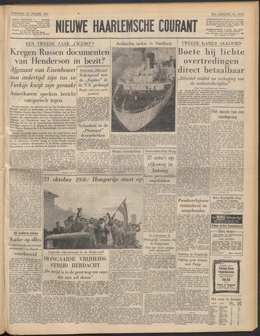 Nieuwe Haarlemsche Courant 1957-10-23