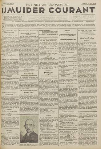 IJmuider Courant 1938-11-12