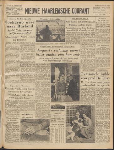 Nieuwe Haarlemsche Courant 1960-02-29