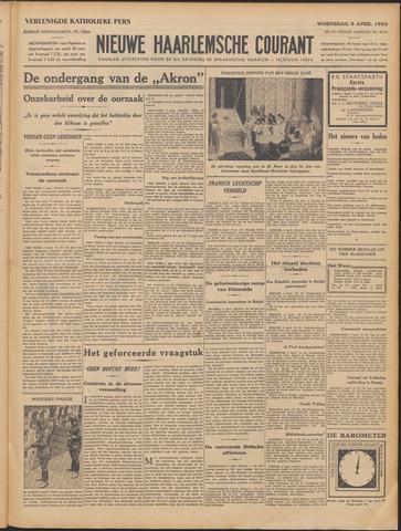Nieuwe Haarlemsche Courant 1933-04-05
