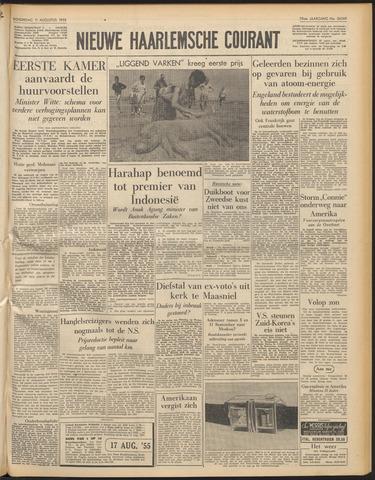 Nieuwe Haarlemsche Courant 1955-08-11