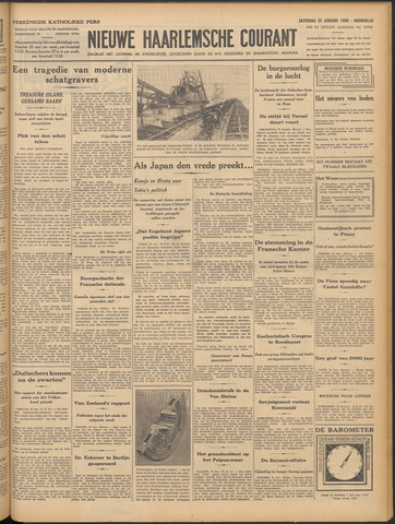 Nieuwe Haarlemsche Courant 1938-01-22