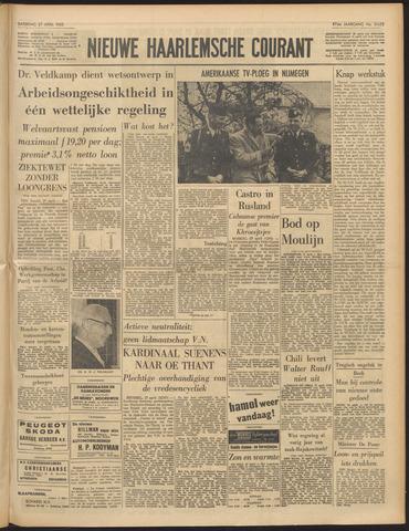 Nieuwe Haarlemsche Courant 1963-04-27
