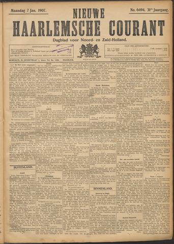 Nieuwe Haarlemsche Courant 1907-01-07