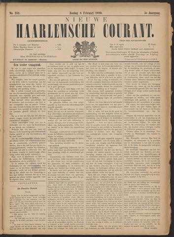 Nieuwe Haarlemsche Courant 1880-02-08