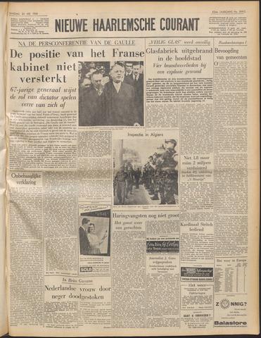 Nieuwe Haarlemsche Courant 1958-05-20