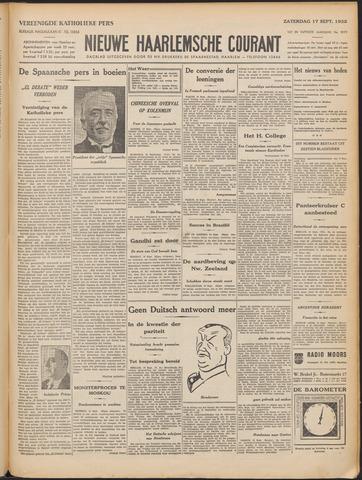 Nieuwe Haarlemsche Courant 1932-09-17