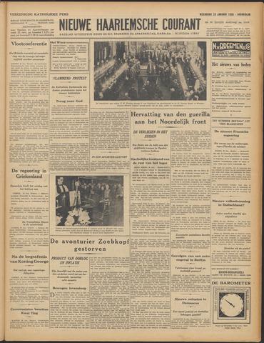 Nieuwe Haarlemsche Courant 1936-01-29
