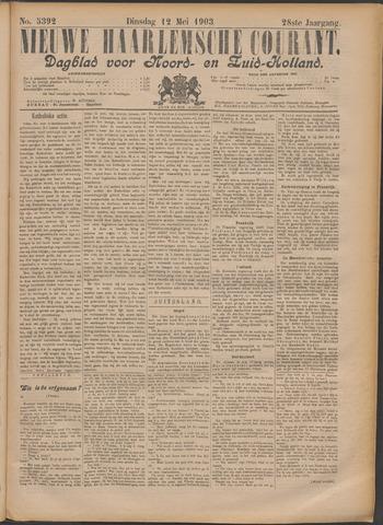 Nieuwe Haarlemsche Courant 1903-05-12