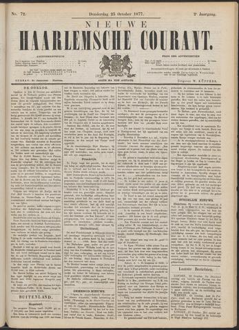 Nieuwe Haarlemsche Courant 1877-10-25