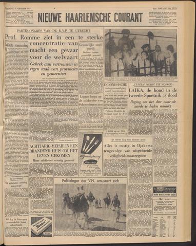Nieuwe Haarlemsche Courant 1957-11-11