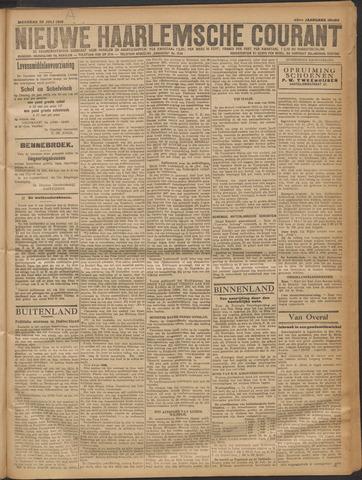 Nieuwe Haarlemsche Courant 1919-07-28