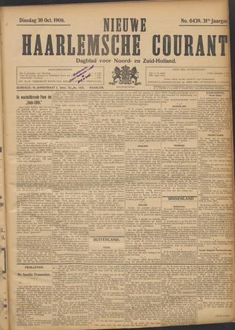 Nieuwe Haarlemsche Courant 1906-10-30