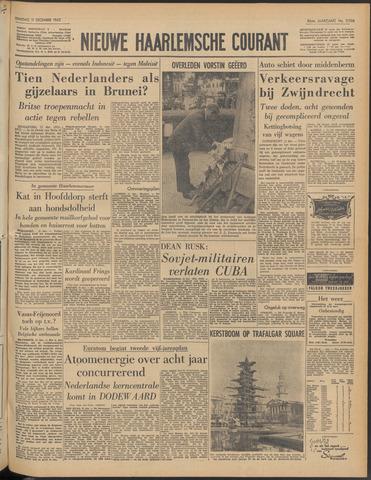Nieuwe Haarlemsche Courant 1962-12-11