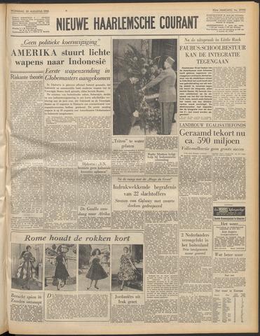 Nieuwe Haarlemsche Courant 1958-08-20