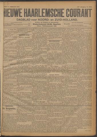Nieuwe Haarlemsche Courant 1908-02-14