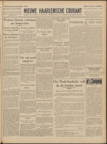 Nieuwe Haarlemsche Courant 1940-06-09