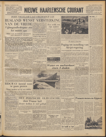 Nieuwe Haarlemsche Courant 1951-08-07