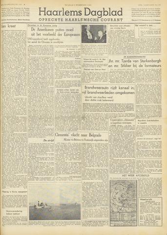 Haarlem's Dagblad 1951-02-09