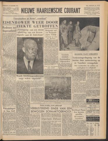 Nieuwe Haarlemsche Courant 1957-11-27