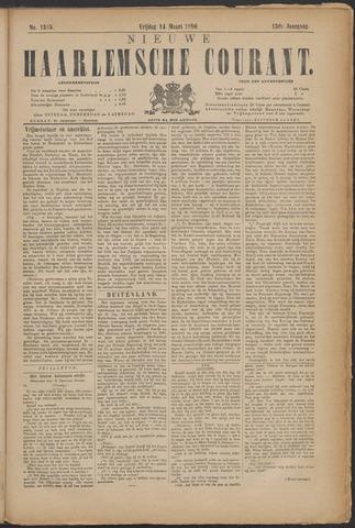 Nieuwe Haarlemsche Courant 1890-03-14