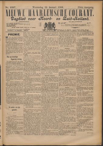 Nieuwe Haarlemsche Courant 1906-01-24