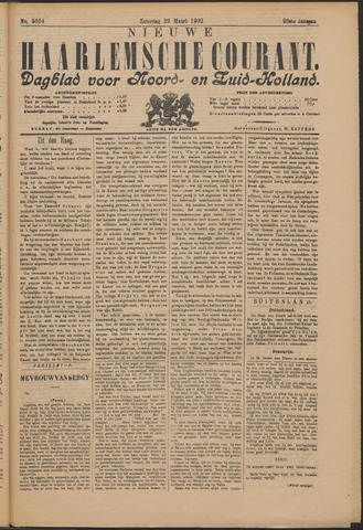 Nieuwe Haarlemsche Courant 1902-03-29
