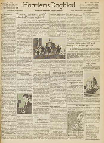 Haarlem's Dagblad 1950-10-24