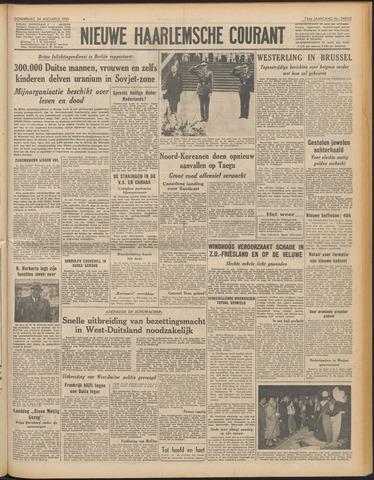 Nieuwe Haarlemsche Courant 1950-08-24