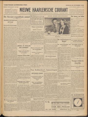 Nieuwe Haarlemsche Courant 1932-11-29