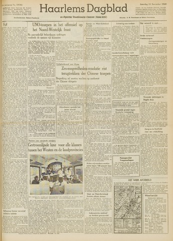 Haarlem's Dagblad 1950-11-11