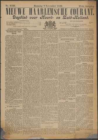 Nieuwe Haarlemsche Courant 1896-11-09
