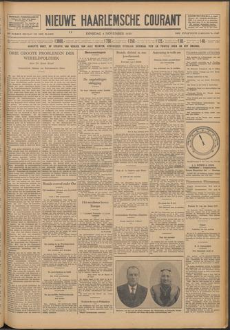 Nieuwe Haarlemsche Courant 1930-11-04