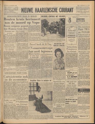 Nieuwe Haarlemsche Courant 1962-08-25