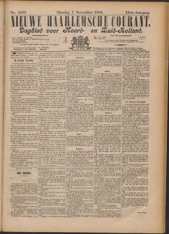 Nieuwe Haarlemsche Courant 1904-11-01