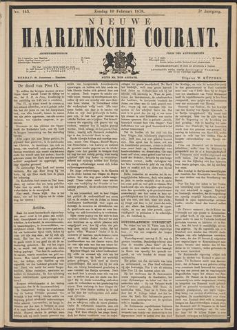 Nieuwe Haarlemsche Courant 1878-02-10