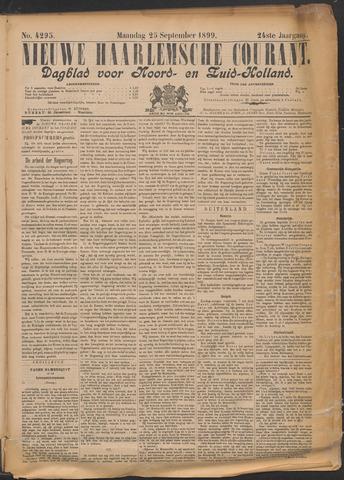 Nieuwe Haarlemsche Courant 1899-09-25