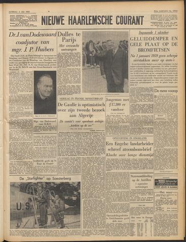 Nieuwe Haarlemsche Courant 1958-07-05