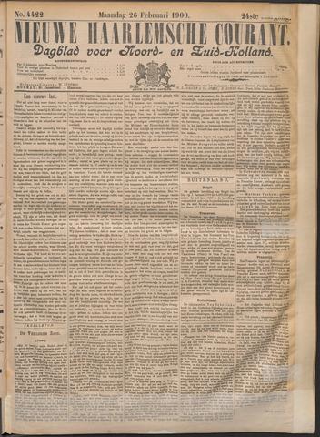 Nieuwe Haarlemsche Courant 1900-02-26