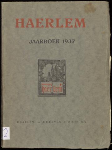 Jaarverslagen en Jaarboeken Vereniging Haerlem 1937