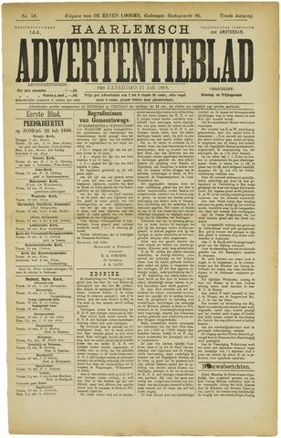 Haarlemsch Advertentieblad 1888-07-21