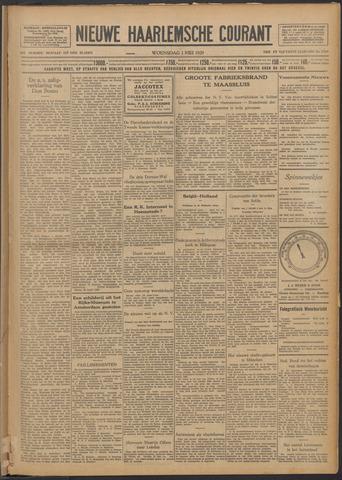 Nieuwe Haarlemsche Courant 1929-05-01