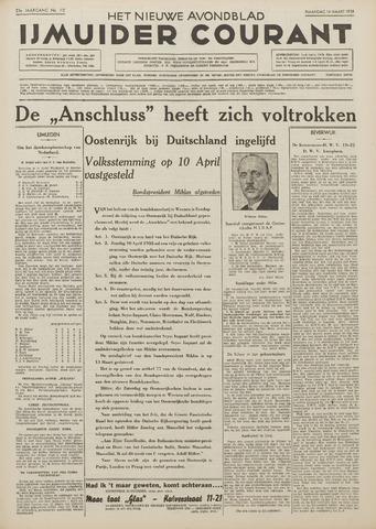 IJmuider Courant 1938-03-14