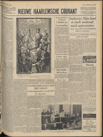 Nieuwe Haarlemsche Courant 1956-05-19